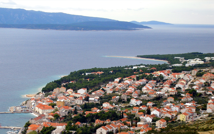 Apartment Bol Brač near Zlatni rat beach windsurfing - west part